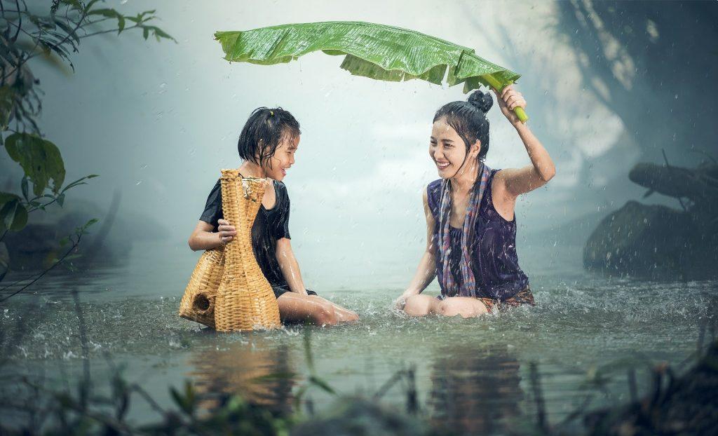 grateful despite the rain